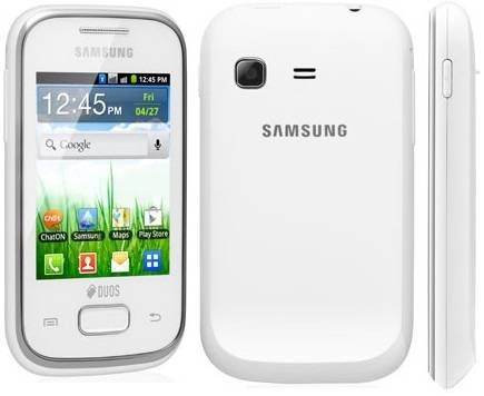 Samsung Galaxy Pocket Duos S5302 in white
