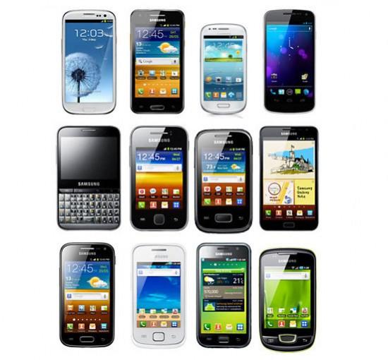 Latest Samsung Galaxy Smartphones