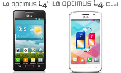 LG Optimus L4 II & Optimus L4 II dual